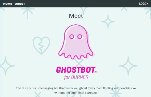 しつこいお誘いを婉曲に断ってくれる「Ghostbot」、「Burner」アプリに登場